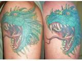 Japonský drak - tetování