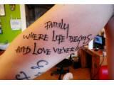 NÁPISY tetovaní