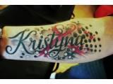 tetování napis